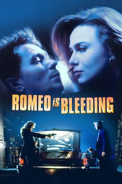 Romeo Is Bleeding movie poster.