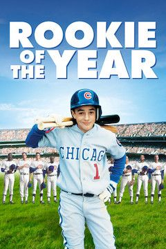 Rookie of the Year movie poster.