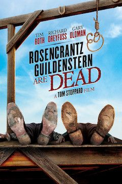 Rosencrantz and Guildenstern Are Dead movie poster.