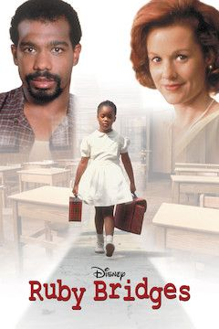 Ruby Bridges movie poster.