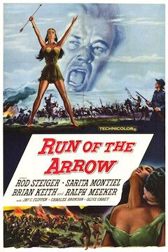 Run of the Arrow movie poster.