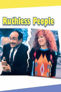 Ruthless People movie poster.