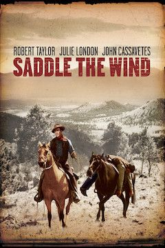 Saddle the Wind movie poster.