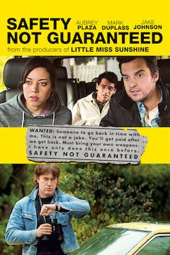 Poster for the movie Safety Not Guaranteed