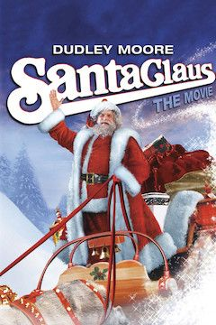 Santa Claus: The Movie movie poster.