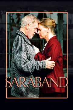 Poster for the movie Saraband