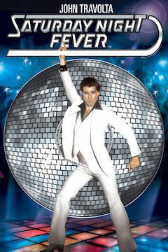 Saturday Night Fever movie poster.