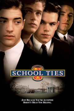 School Ties movie poster.