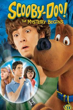 Scooby-Doo! The Mystery Begins movie poster.