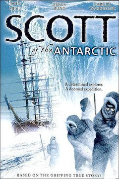 Poster for the movie Scott of the Antarctic