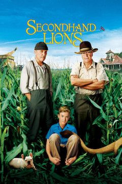 Secondhand Lions movie poster.