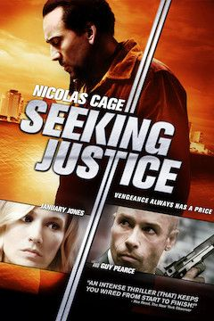 Seeking Justice movie poster.