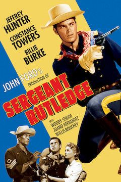 Sergeant Rutledge movie poster.