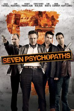 Seven Psychopaths  movie poster.
