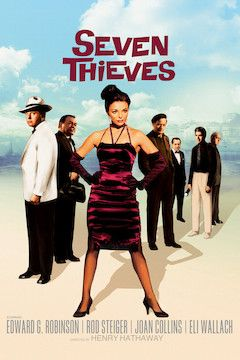 Seven Thieves movie poster.