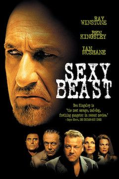 Sexy Beast movie poster.