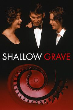 Shallow Grave movie poster.