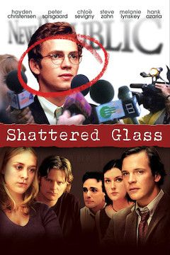 Shattered Glass movie poster.