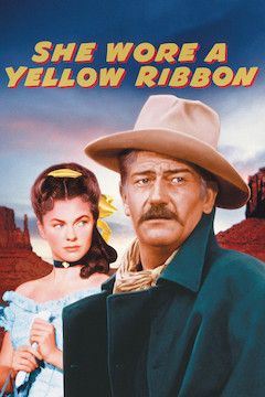 She Wore a Yellow Ribbon movie poster.