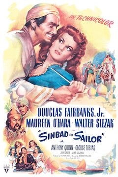 Sinbad the Sailor movie poster.
