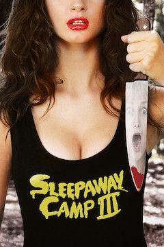 Sleepaway Camp III: Teenage Wasteland movie poster.