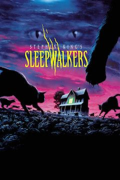 Poster for the movie Sleepwalkers