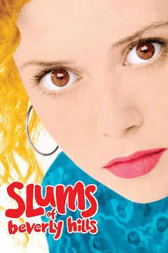 Slums of Beverly Hills movie poster.