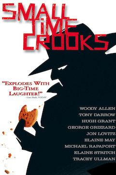 Small Time Crooks movie poster.