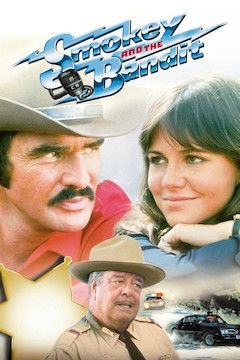 Smokey and the Bandit movie poster.