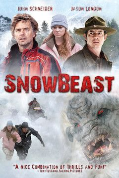 Poster for the movie Snow Beast