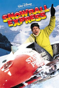Snowball Express movie poster.