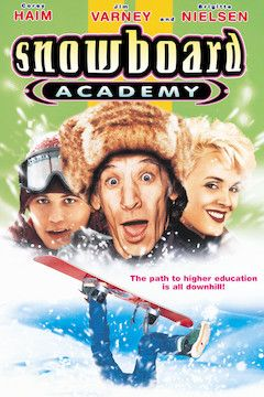 Snowboard Academy movie poster.