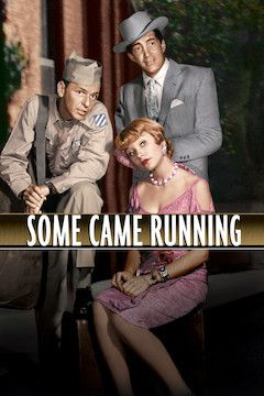 Some Came Running movie poster.