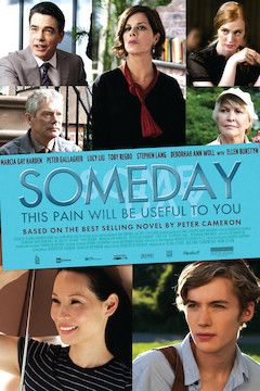 Someday This Pain Will Be Useful to You movie poster.
