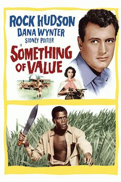 Something of Value movie poster.