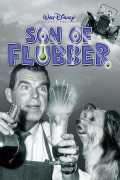 Son of Flubber movie poster.