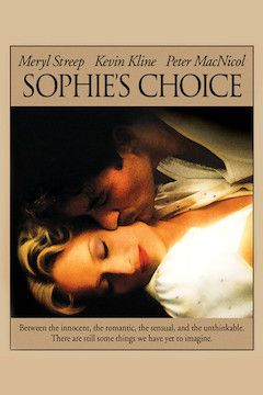 Poster for the movie Sophie's Choice