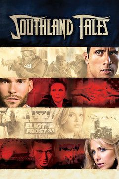 Southland Tales movie poster.