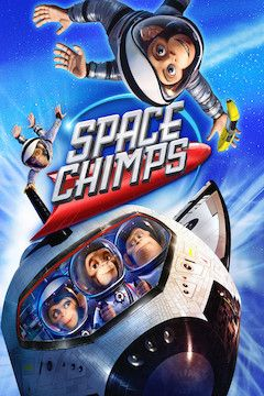 Space Chimps movie poster.