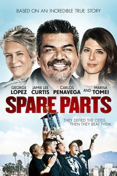 Spare Parts movie poster.