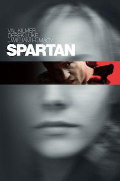Spartan movie poster.