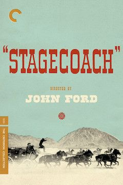 Poster for the movie Stagecoach