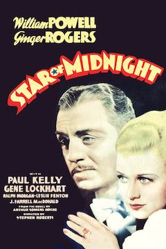Star of Midnight movie poster.