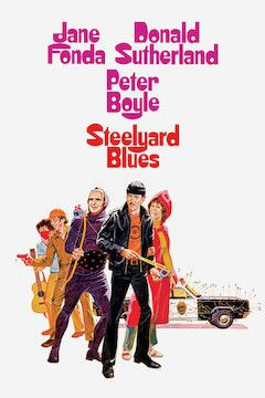 Steelyard Blues movie poster.