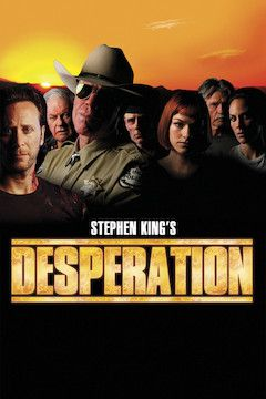 Stephen King's Desperation movie poster.