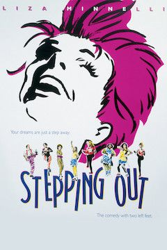 Stepping Out movie poster.