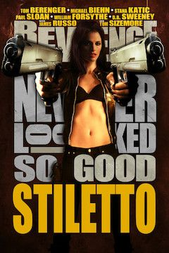Stiletto movie poster.
