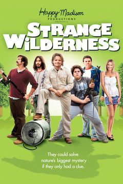 Strange Wilderness movie poster.