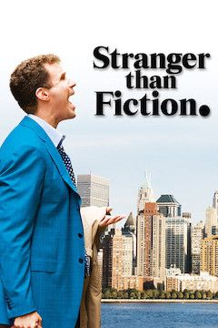 Stranger Than Fiction movie poster.