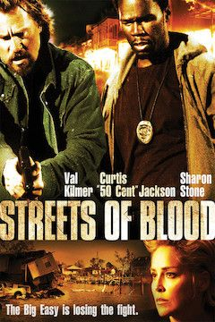 Streets of Blood movie poster.